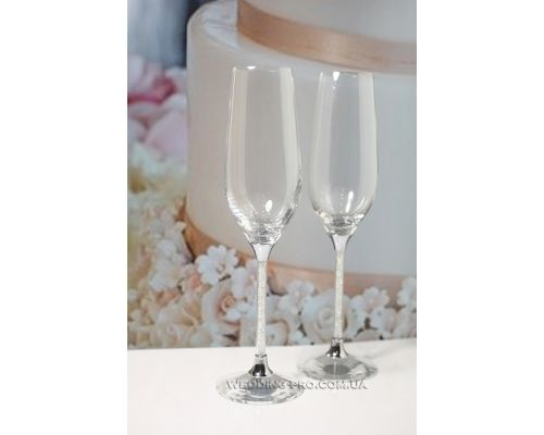 "Бокалы на свадьбу ""Crystal"" 235 ml"