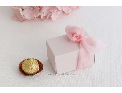 Пудровая маленькая коробочка