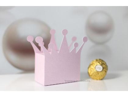 """Бонбоньерки детские на день рождения """"Корона"""""""