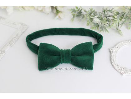 Дизайнерские галстуки бабочки из велюра