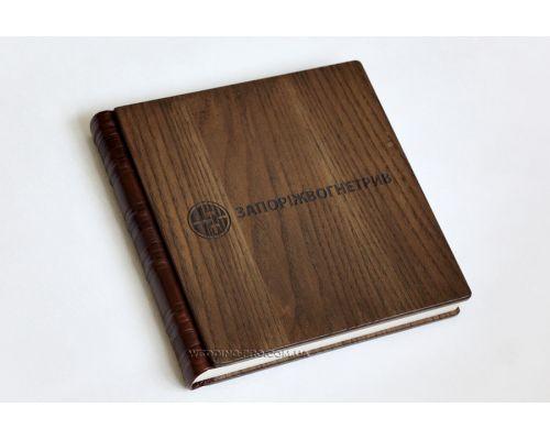 Книга пожеланий из дерева VIP