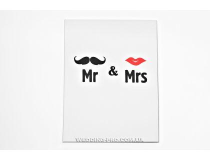 Папка для свидетельства из Коллекции Mr & Mrs