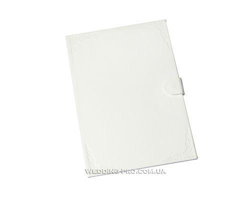 Папка для свидетельства DeLux из эко кожи с тиснёнными уголками