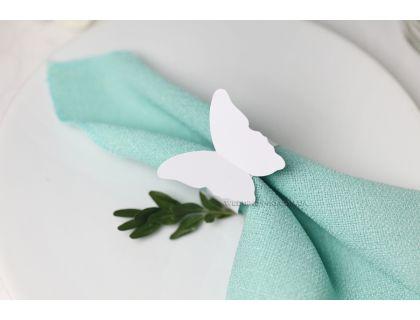 """Бумажные кольца для салфеток в виде бабочек """"Butterfly"""""""