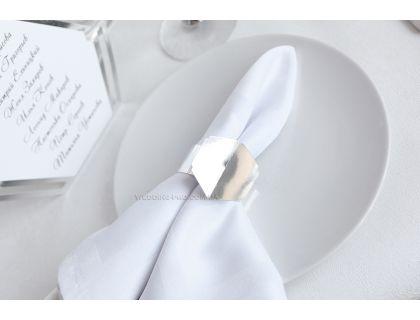 """Кольца для салфеток для сервировки стола """"Геометрия 6"""""""