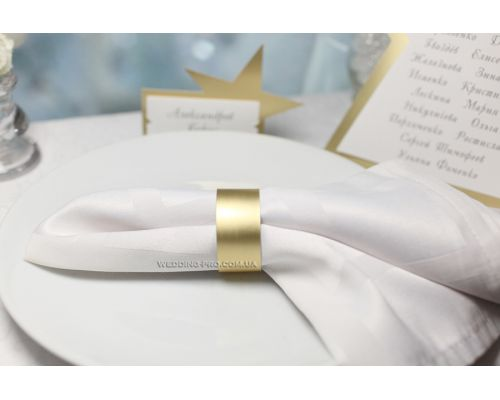 """Золотые кольца для салфеток """"Стиль"""""""