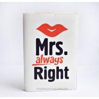 Оригинальные обложки для паспорта миссис - Mrs