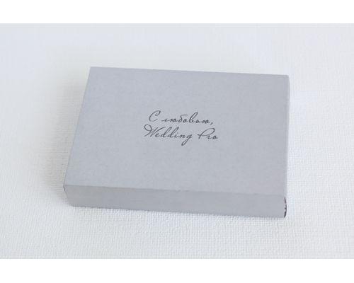 Коробка конверт из бумаги