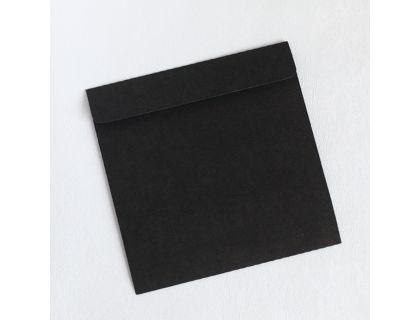 Черный конверт крафт