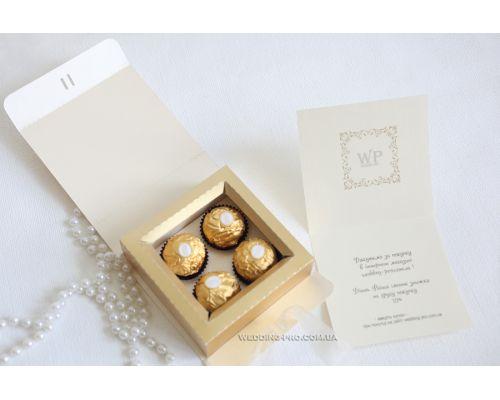 Коробки на заказ с маленьким тиражом для Ferrero Rocher