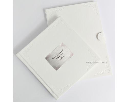 Набор DeLux книга пожеланий и папка для свидетельства