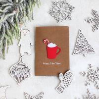 Дизайнерские новогодние открытки