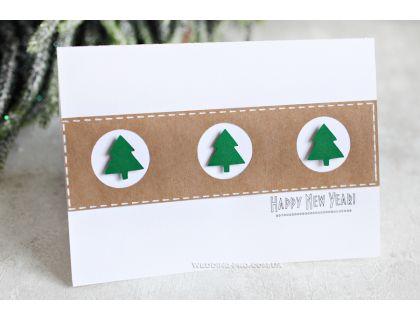 Корпоративные новогодние открытки с 3Д ёлкой