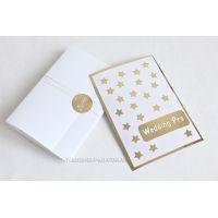 Корпоративные открытки к новому году с золотым шильдом