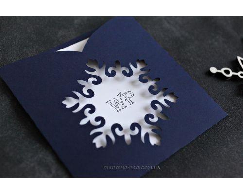 """Новогодние корпоративные открытки """"Снежинка"""" с логотипом"""