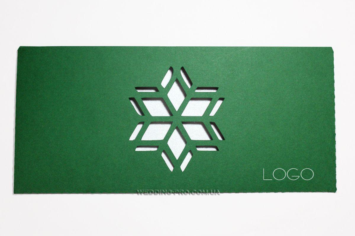 Новогодние открытки с логотипом компании заказать