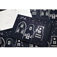 """Поздравительная корпоративная открытка """"City"""""""