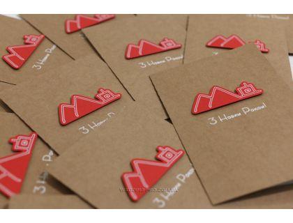 Дизайнерские новогодние открытки с вашим логотипом