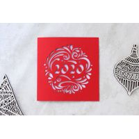 """Новогодние открытки с логотипом  2020 """"Шарик"""""""