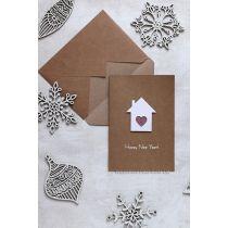 """Дизайнерские открытки ручной работы """"Sweet home"""""""