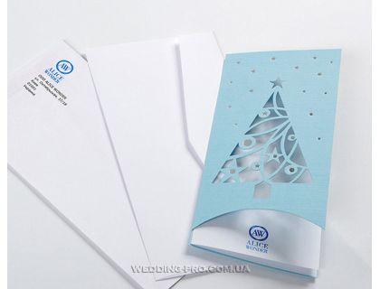 Печать на конверте логотипа и адреса компании