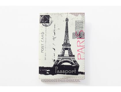 Обложка для паспорта с оригинальным дизайном