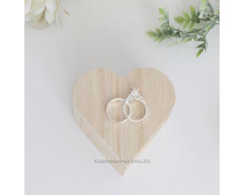 """Коробочки для обручальных колец """"Сердце"""""""