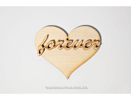 """Подушечка для колец сердце """"Forever """""""