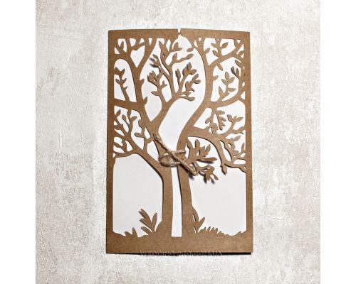 """Пригласительные """"Дерево"""""""