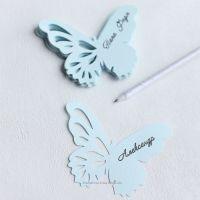 Бабочки рассадочные карточки