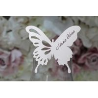 "Карточки с именами гостей ""Метелик"""