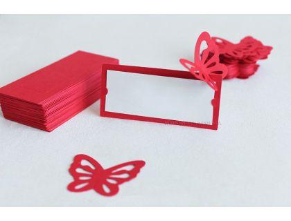 Рассадочные карточки в виде бабочек опт