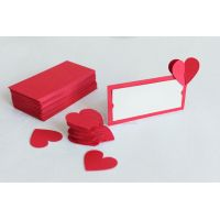 """Таблички на столы опт """"Сердечки"""" 3Д"""