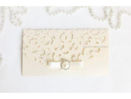 """Изготовление подарочных сертификатов на заказ """"Версаль"""" с брошью"""