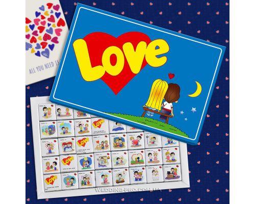 """Набор шоколада """"Love is"""""""