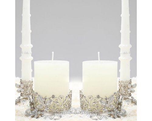 Подсвечники свадебных свечей Butterfly DELUXE 250$