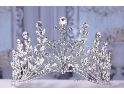 """Свадебная корона для невесты """"Вдохновение"""""""