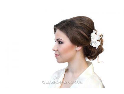 """Заколка цветы в волосы """"Мелисса"""" 2"""