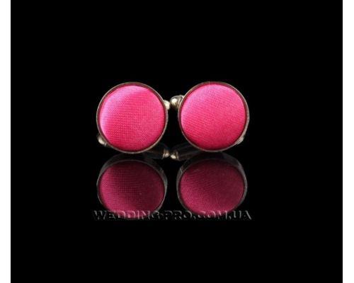 Красивые запонки розовые